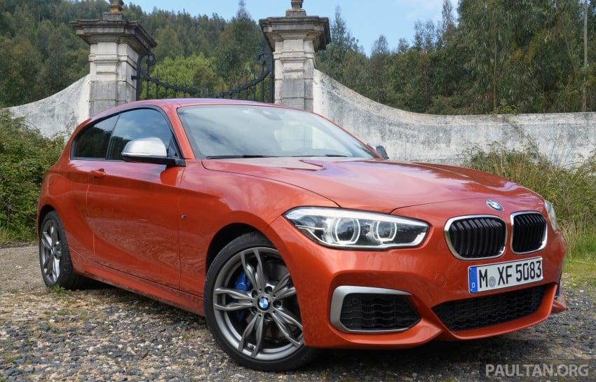 DRIVEN: BMW 1 Series facelift in Lisbon – 120d, M135i Image #348839