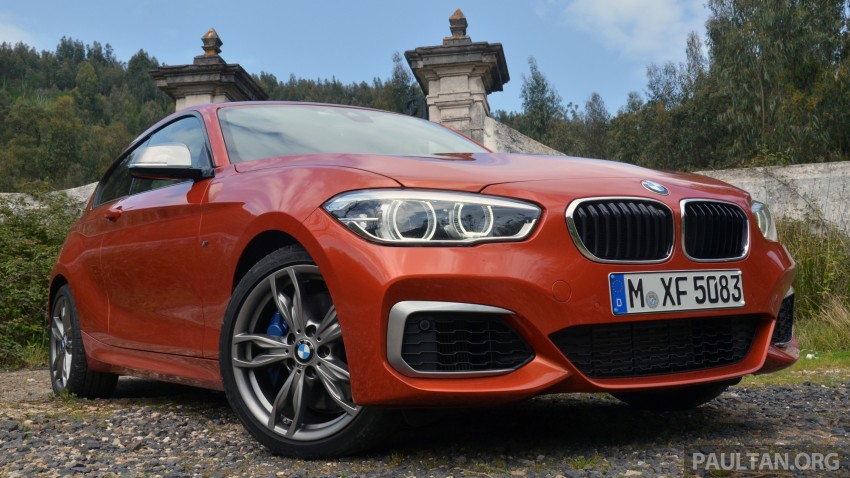 DRIVEN: BMW 1 Series facelift in Lisbon – 120d, M135i Image #348840