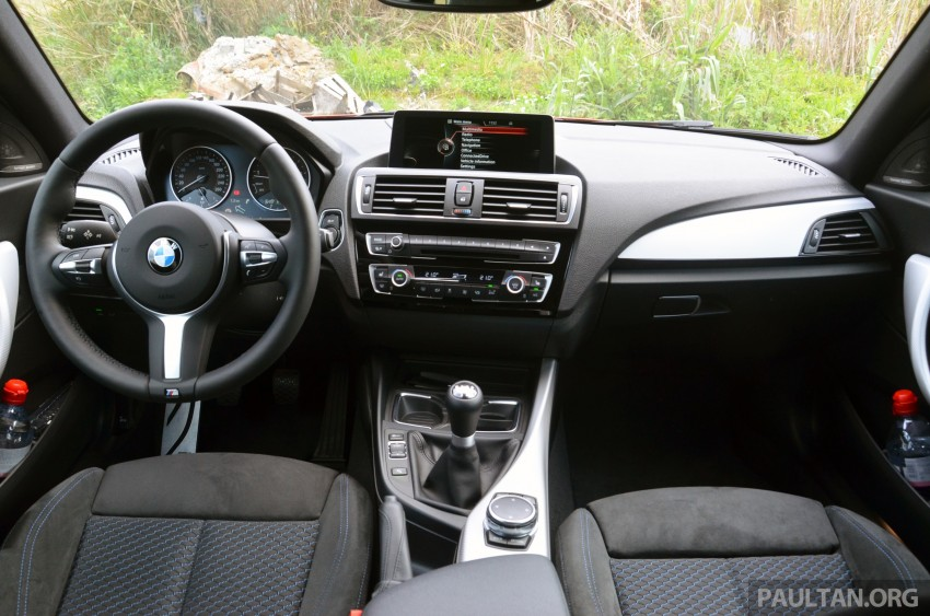 DRIVEN: BMW 1 Series facelift in Lisbon – 120d, M135i Image #348844