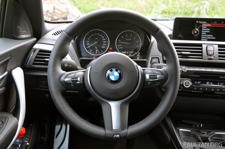 DRIVEN: BMW 1 Series facelift in Lisbon – 120d, M135i Image #348845