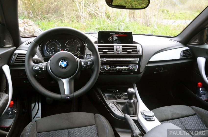 DRIVEN: BMW 1 Series facelift in Lisbon – 120d, M135i Image #348846