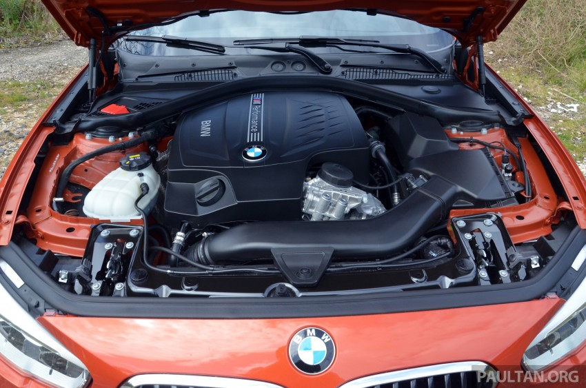 DRIVEN: BMW 1 Series facelift in Lisbon – 120d, M135i Image #348852