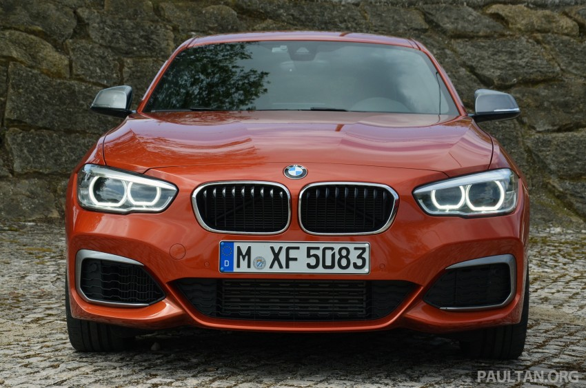 DRIVEN: BMW 1 Series facelift in Lisbon – 120d, M135i Image #348854
