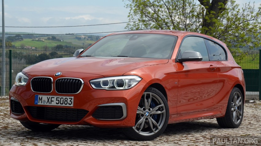 DRIVEN: BMW 1 Series facelift in Lisbon – 120d, M135i Image #348855