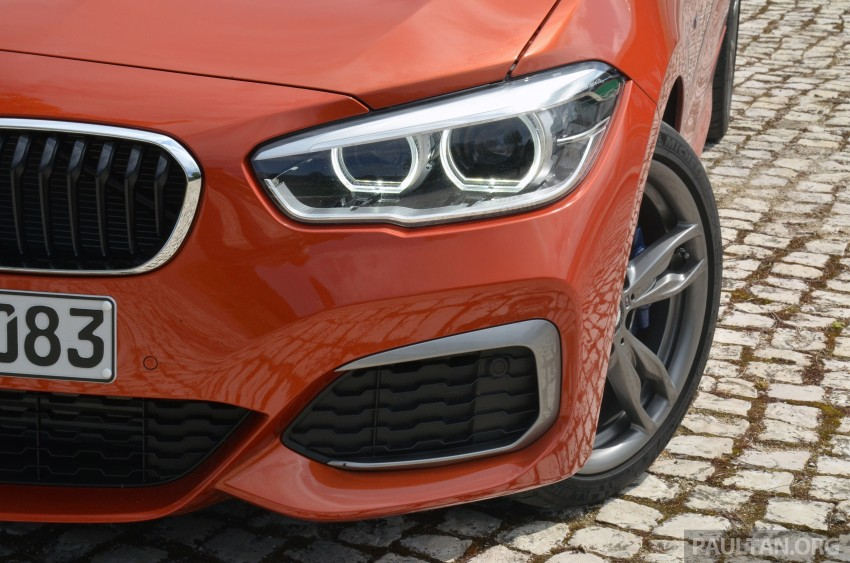 DRIVEN: BMW 1 Series facelift in Lisbon – 120d, M135i Image #348856