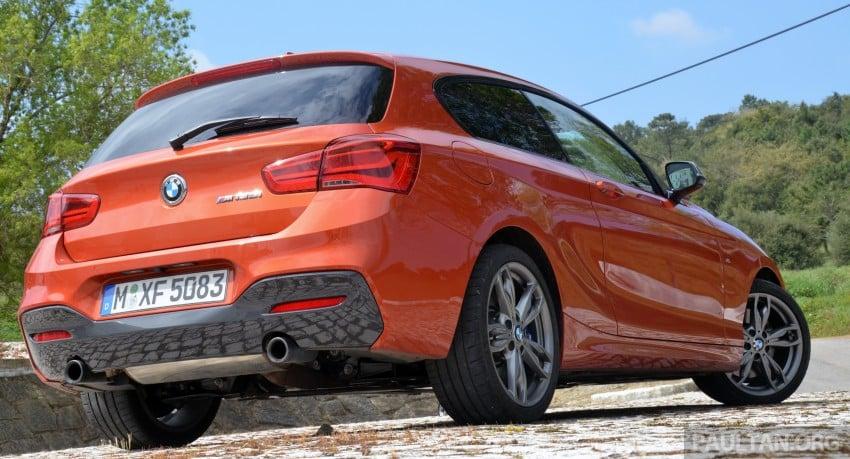 DRIVEN: BMW 1 Series facelift in Lisbon – 120d, M135i Image #348858