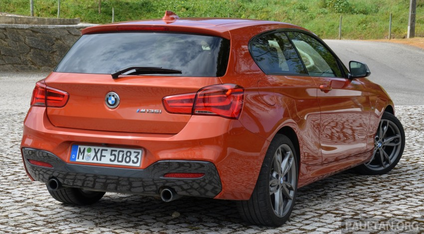 DRIVEN: BMW 1 Series facelift in Lisbon – 120d, M135i Image #348859