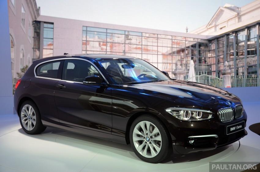 DRIVEN: BMW 1 Series facelift in Lisbon – 120d, M135i Image #348863