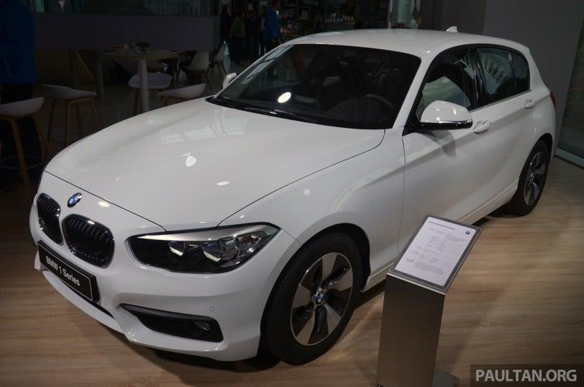 DRIVEN: BMW 1 Series facelift in Lisbon – 120d, M135i Image #348874