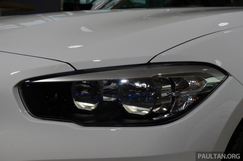 DRIVEN: BMW 1 Series facelift in Lisbon – 120d, M135i Image #348875