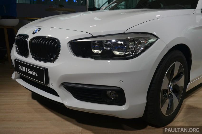 DRIVEN: BMW 1 Series facelift in Lisbon – 120d, M135i Image #348876
