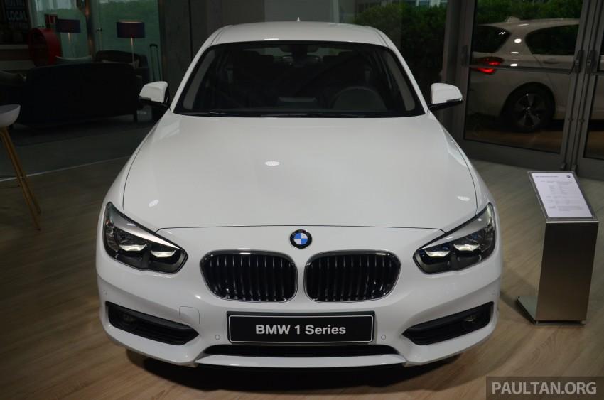DRIVEN: BMW 1 Series facelift in Lisbon – 120d, M135i Image #348877