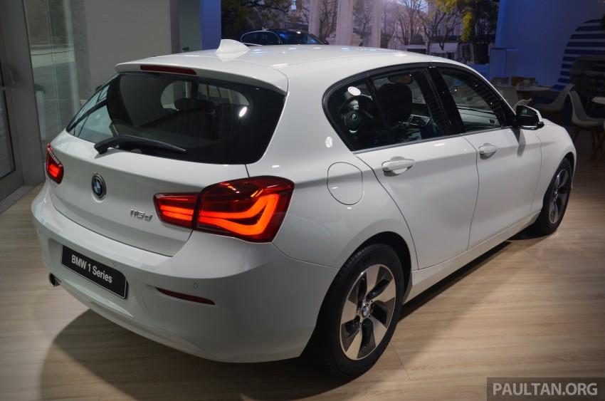 DRIVEN: BMW 1 Series facelift in Lisbon – 120d, M135i Image #348878