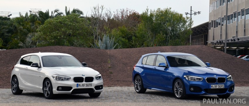 DRIVEN: BMW 1 Series facelift in Lisbon – 120d, M135i Image #348886