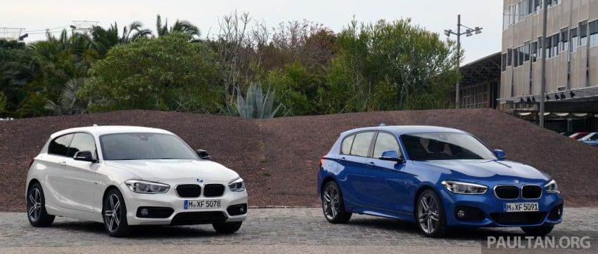 DRIVEN: BMW 1 Series facelift in Lisbon – 120d, M135i Image #348886