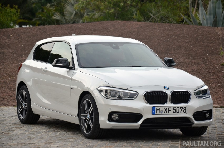 DRIVEN: BMW 1 Series facelift in Lisbon – 120d, M135i Image #348887