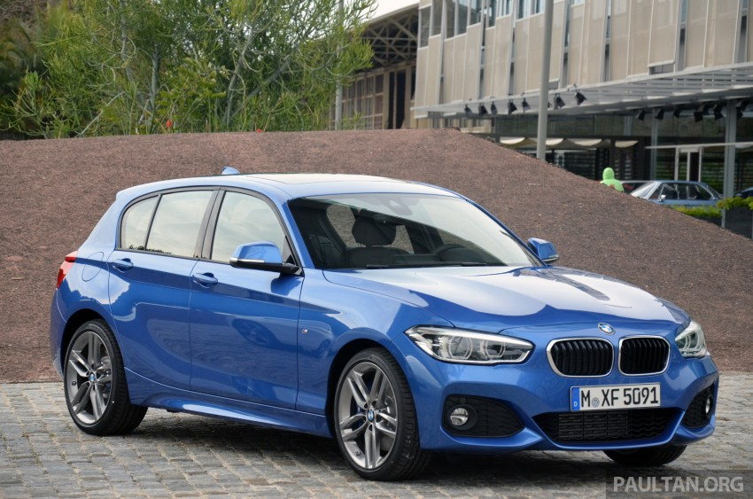 DRIVEN: BMW 1 Series facelift in Lisbon – 120d, M135i Image #348888