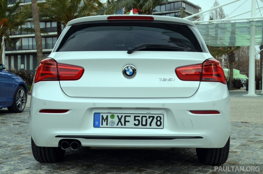 DRIVEN: BMW 1 Series facelift in Lisbon – 120d, M135i Image #348893