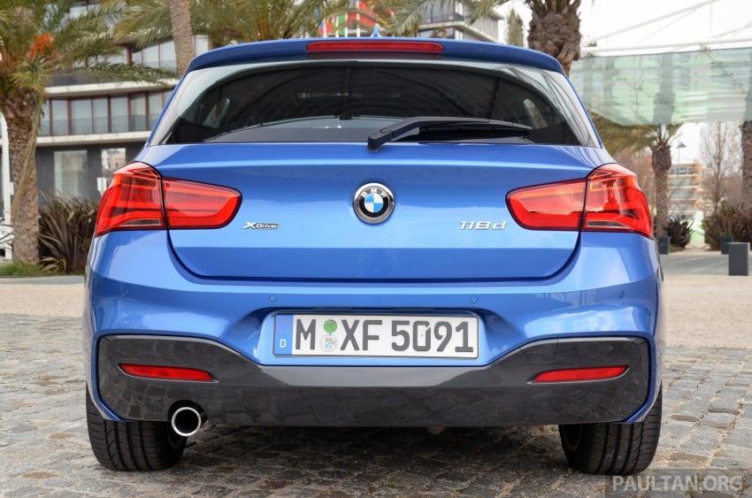 DRIVEN: BMW 1 Series facelift in Lisbon – 120d, M135i Image #348894