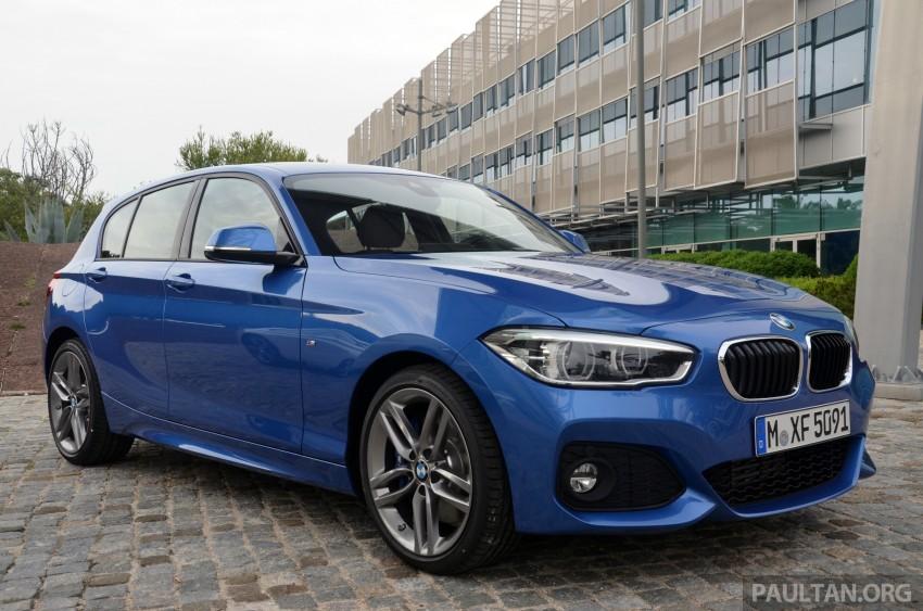DRIVEN: BMW 1 Series facelift in Lisbon – 120d, M135i Image #348899