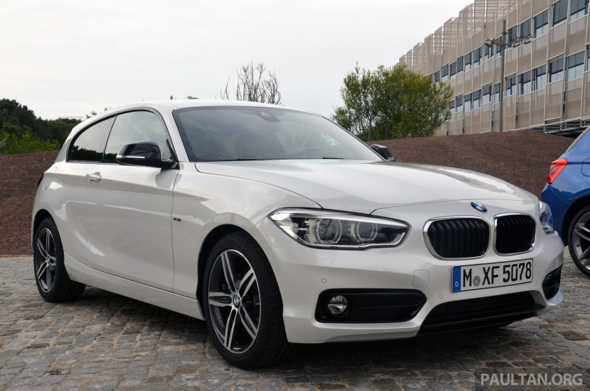 DRIVEN: BMW 1 Series facelift in Lisbon – 120d, M135i Image #348900