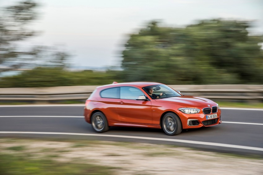 DRIVEN: BMW 1 Series facelift in Lisbon – 120d, M135i Image #348916