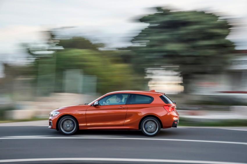 DRIVEN: BMW 1 Series facelift in Lisbon – 120d, M135i Image #348917