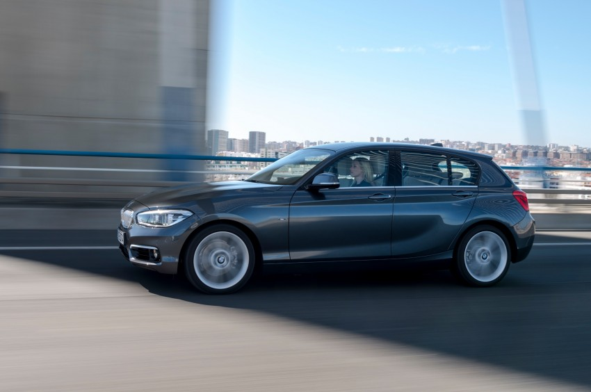 DRIVEN: BMW 1 Series facelift in Lisbon – 120d, M135i Image #348918