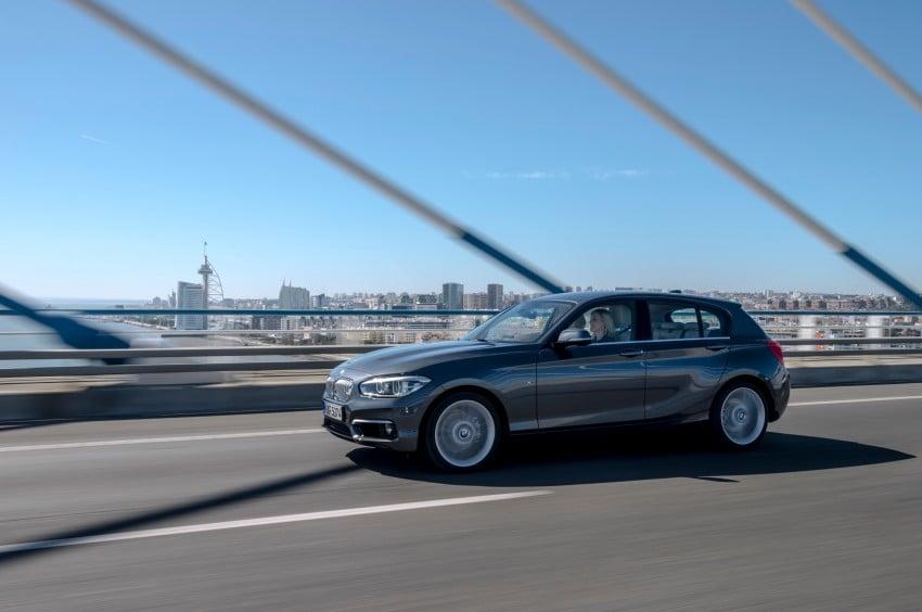 DRIVEN: BMW 1 Series facelift in Lisbon – 120d, M135i Image #348919