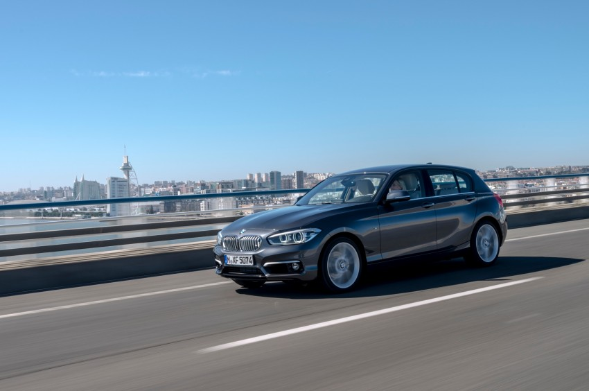 DRIVEN: BMW 1 Series facelift in Lisbon – 120d, M135i Image #348920