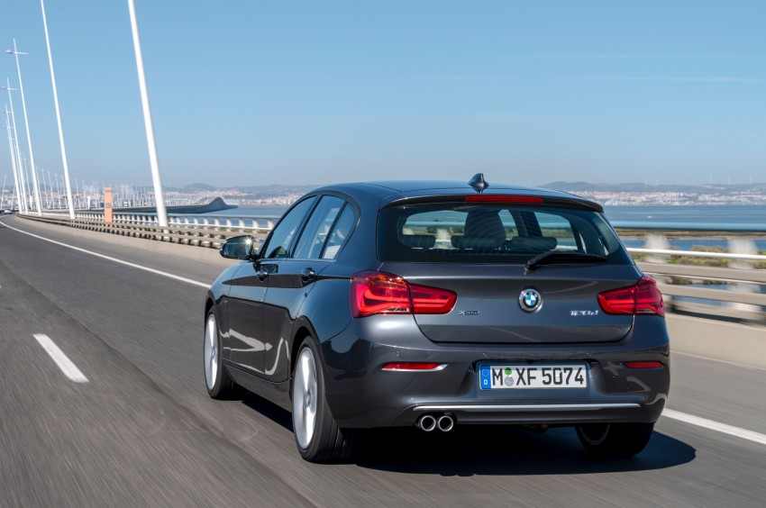 DRIVEN: BMW 1 Series facelift in Lisbon – 120d, M135i Image #348923