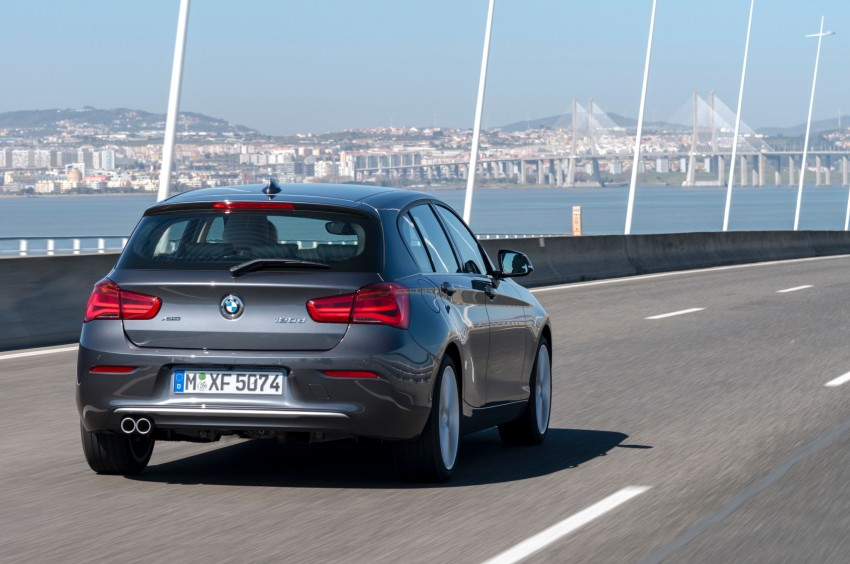 DRIVEN: BMW 1 Series facelift in Lisbon – 120d, M135i Image #348924