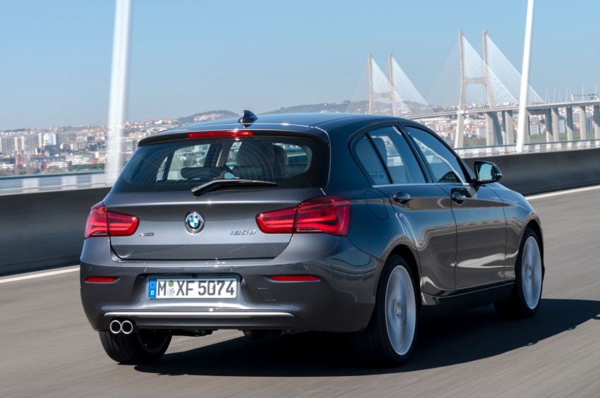 DRIVEN: BMW 1 Series facelift in Lisbon – 120d, M135i Image #348925