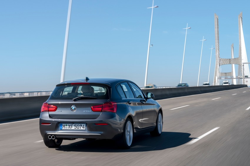 DRIVEN: BMW 1 Series facelift in Lisbon – 120d, M135i Image #348926