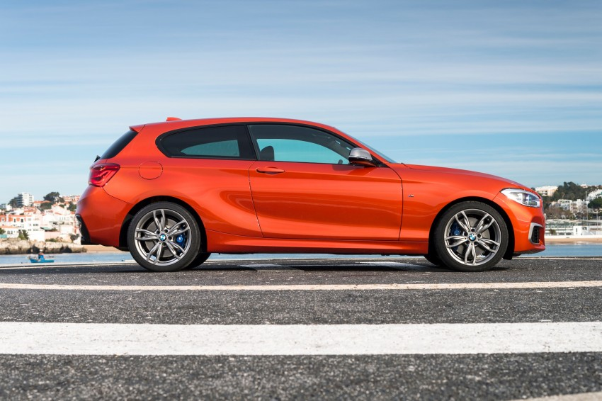 DRIVEN: BMW 1 Series facelift in Lisbon – 120d, M135i Image #348927