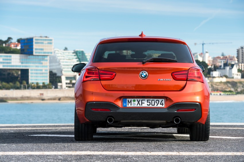 DRIVEN: BMW 1 Series facelift in Lisbon – 120d, M135i Image #348928