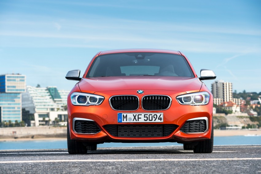 DRIVEN: BMW 1 Series facelift in Lisbon – 120d, M135i Image #348929