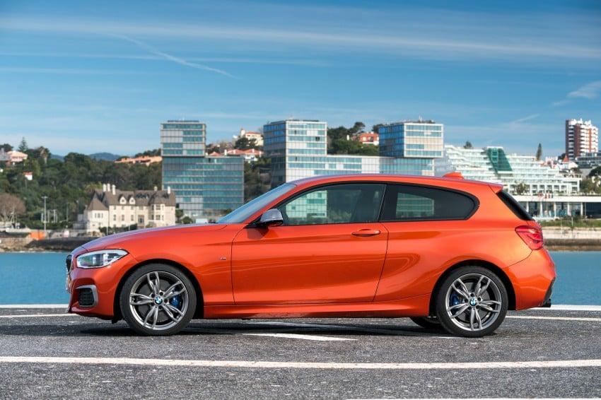 DRIVEN: BMW 1 Series facelift in Lisbon – 120d, M135i Image #348930