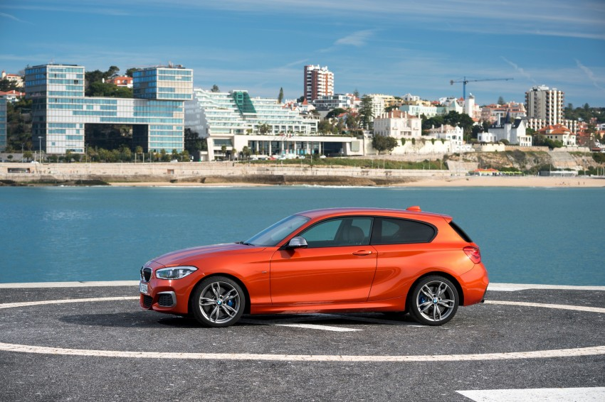 DRIVEN: BMW 1 Series facelift in Lisbon – 120d, M135i Image #348931