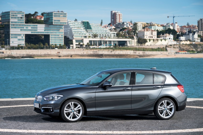DRIVEN: BMW 1 Series facelift in Lisbon – 120d, M135i Image #348932