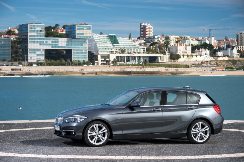 DRIVEN: BMW 1 Series facelift in Lisbon – 120d, M135i Image #348933