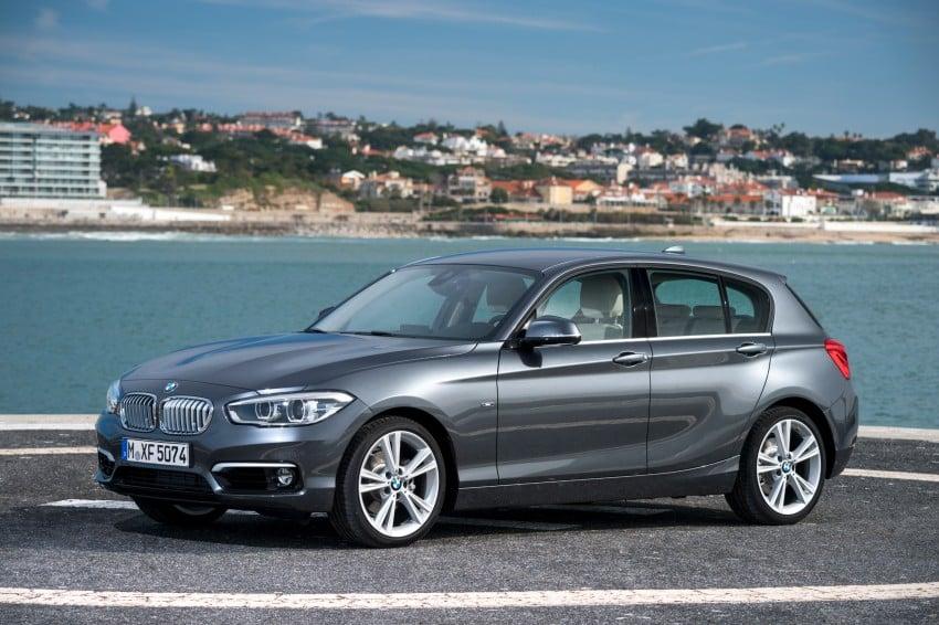 DRIVEN: BMW 1 Series facelift in Lisbon – 120d, M135i Image #348934