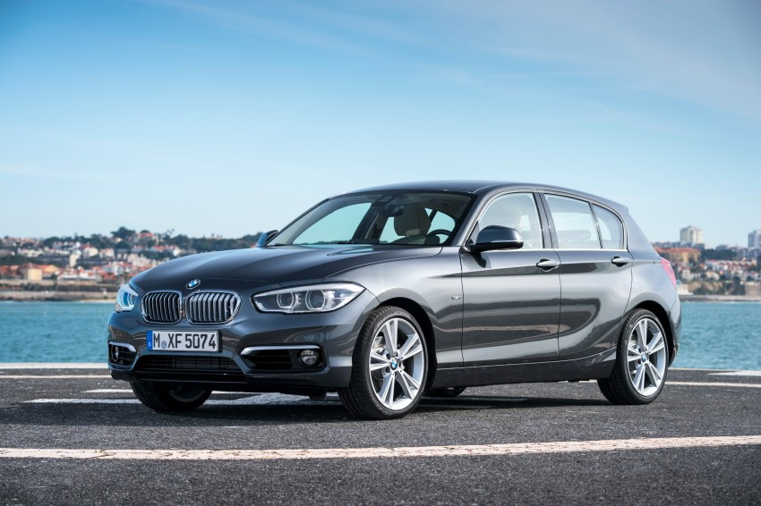 DRIVEN: BMW 1 Series facelift in Lisbon – 120d, M135i Image #348936