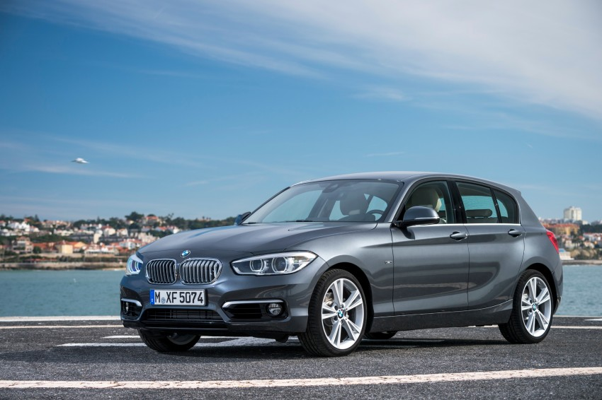 DRIVEN: BMW 1 Series facelift in Lisbon – 120d, M135i Image #348937