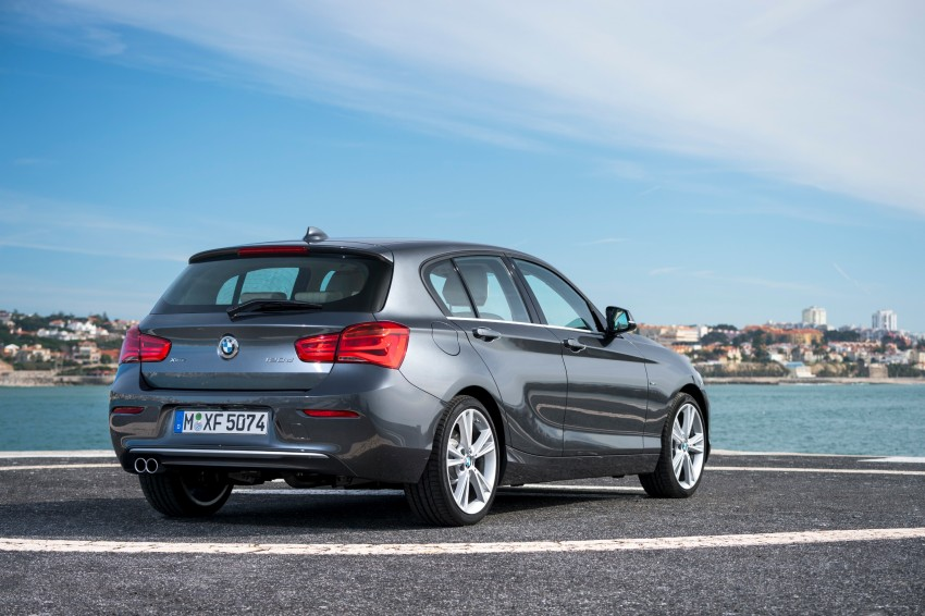 DRIVEN: BMW 1 Series facelift in Lisbon – 120d, M135i Image #348938