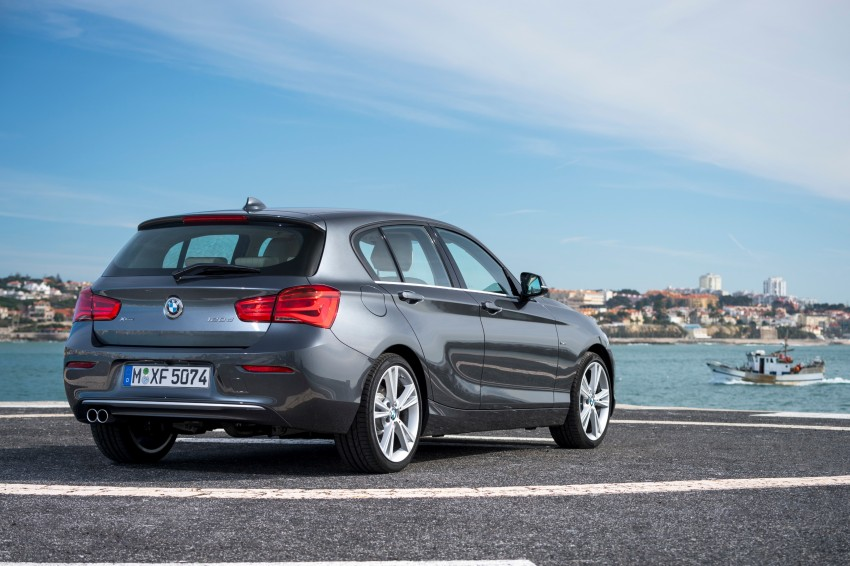 DRIVEN: BMW 1 Series facelift in Lisbon – 120d, M135i Image #348939