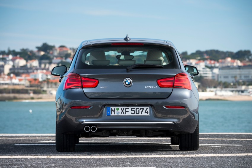 DRIVEN: BMW 1 Series facelift in Lisbon – 120d, M135i Image #348940