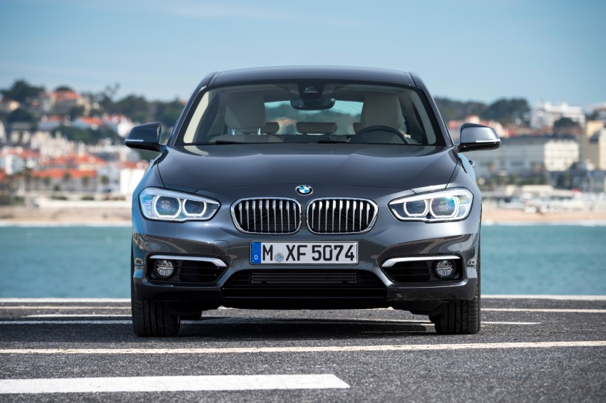 DRIVEN: BMW 1 Series facelift in Lisbon – 120d, M135i Image #348941