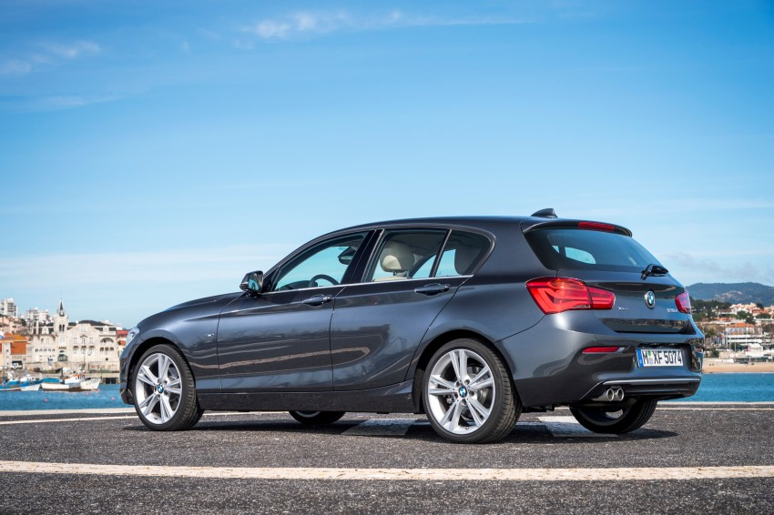 DRIVEN: BMW 1 Series facelift in Lisbon – 120d, M135i Image #348942