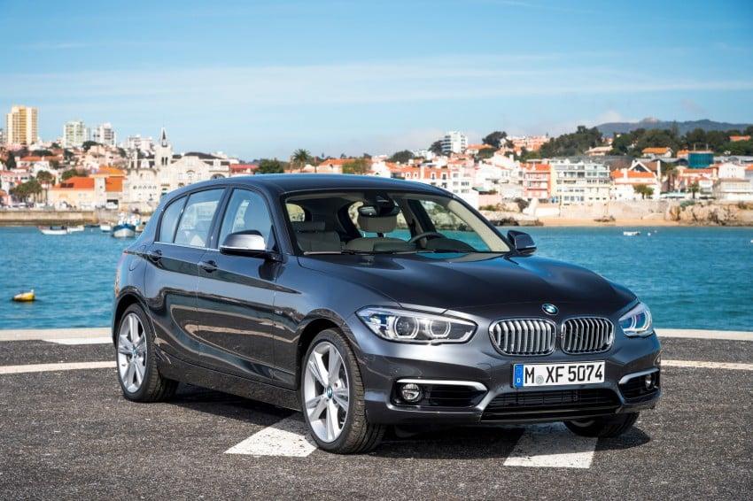 DRIVEN: BMW 1 Series facelift in Lisbon – 120d, M135i Image #348943